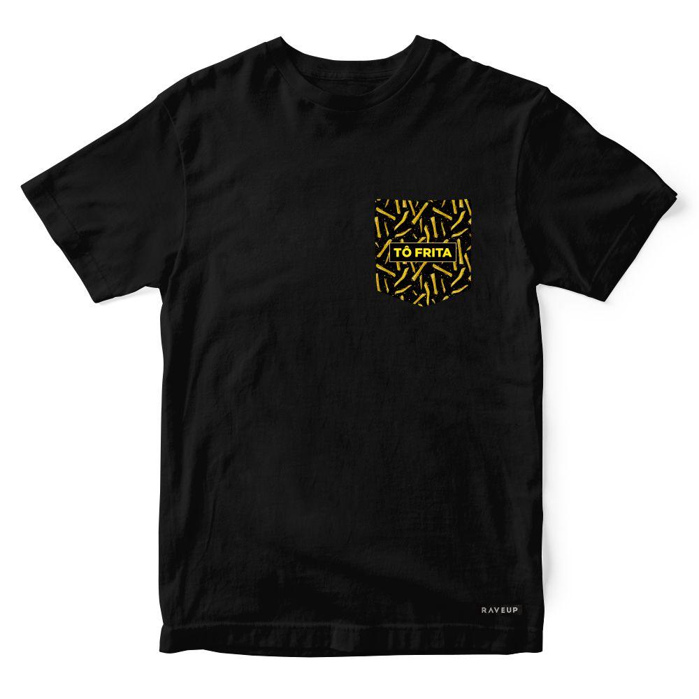 Camiseta Bolso Psicodélico Tô Frito
