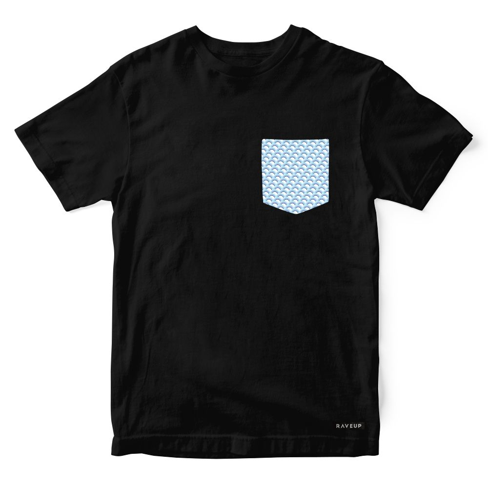 Camiseta Bolso Sky Blue
