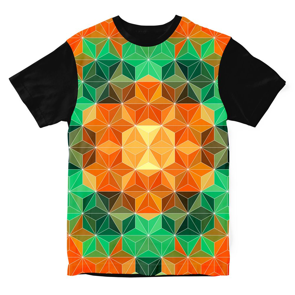 Camiseta Geometric Mandala