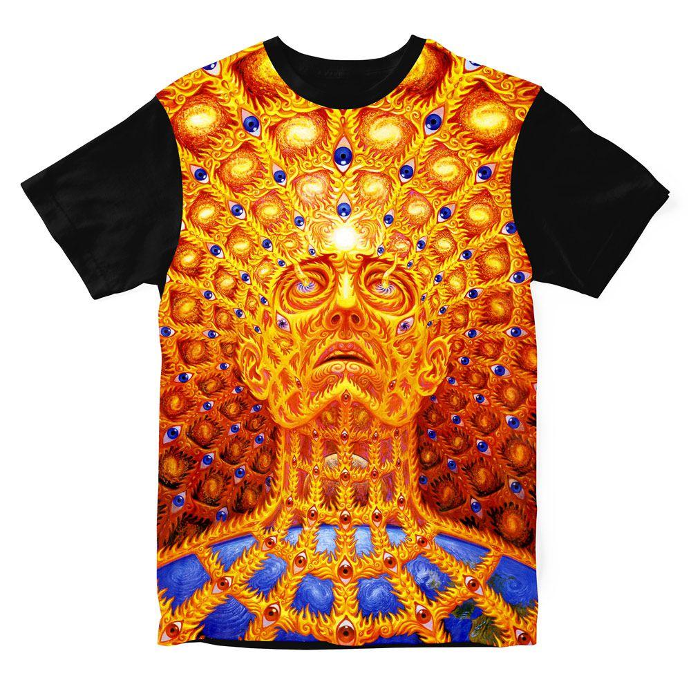 Camiseta Psicodélica AG