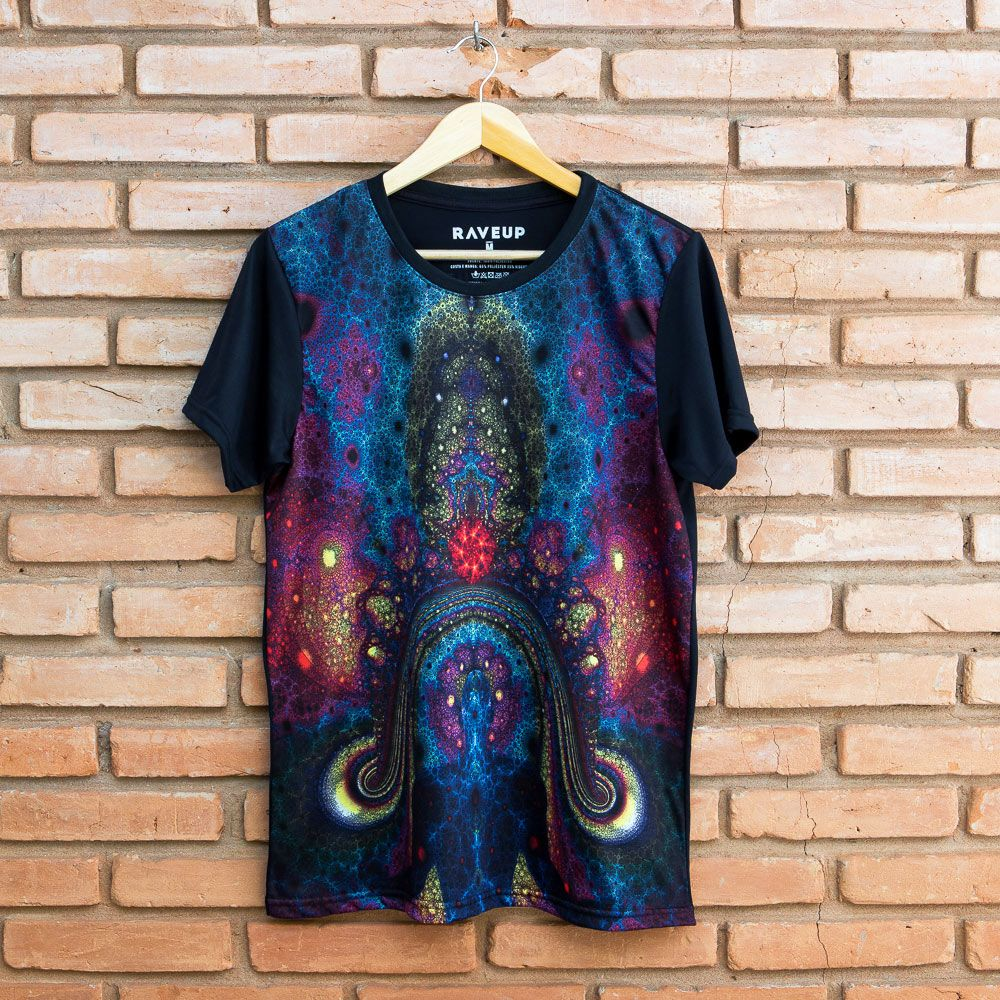 Camiseta Psicodélica Chakras