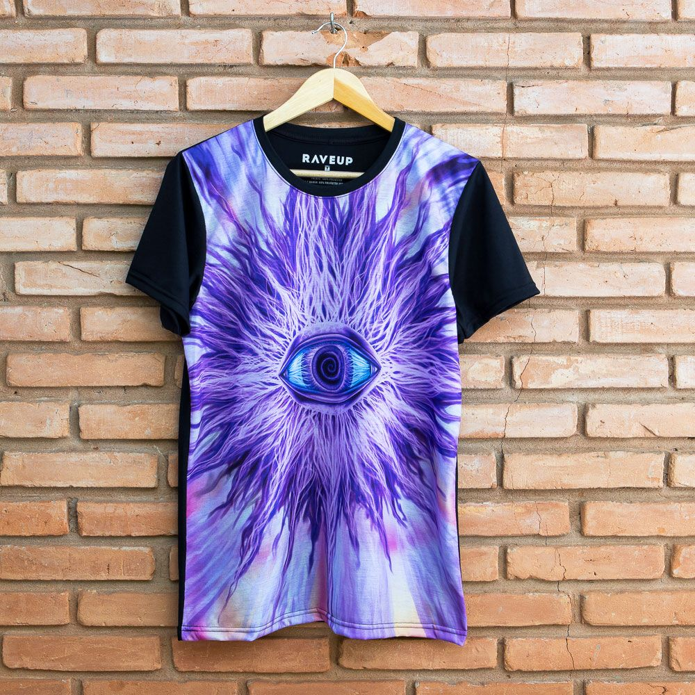 Camiseta Psicodélica Eye