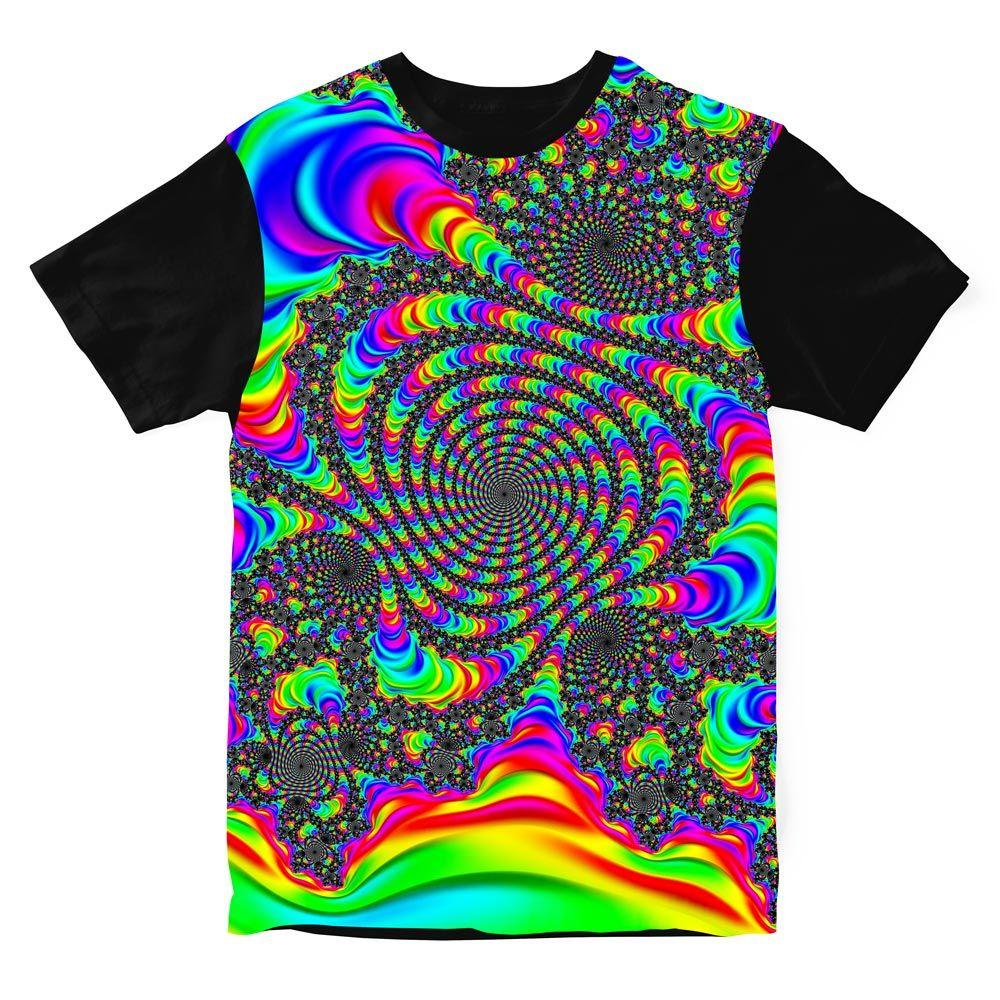 Camiseta Psicodélica Alucination in Transe