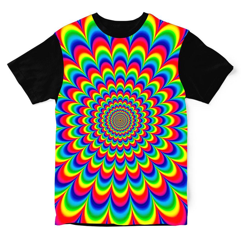 Camiseta Psicodélica Inside Trip
