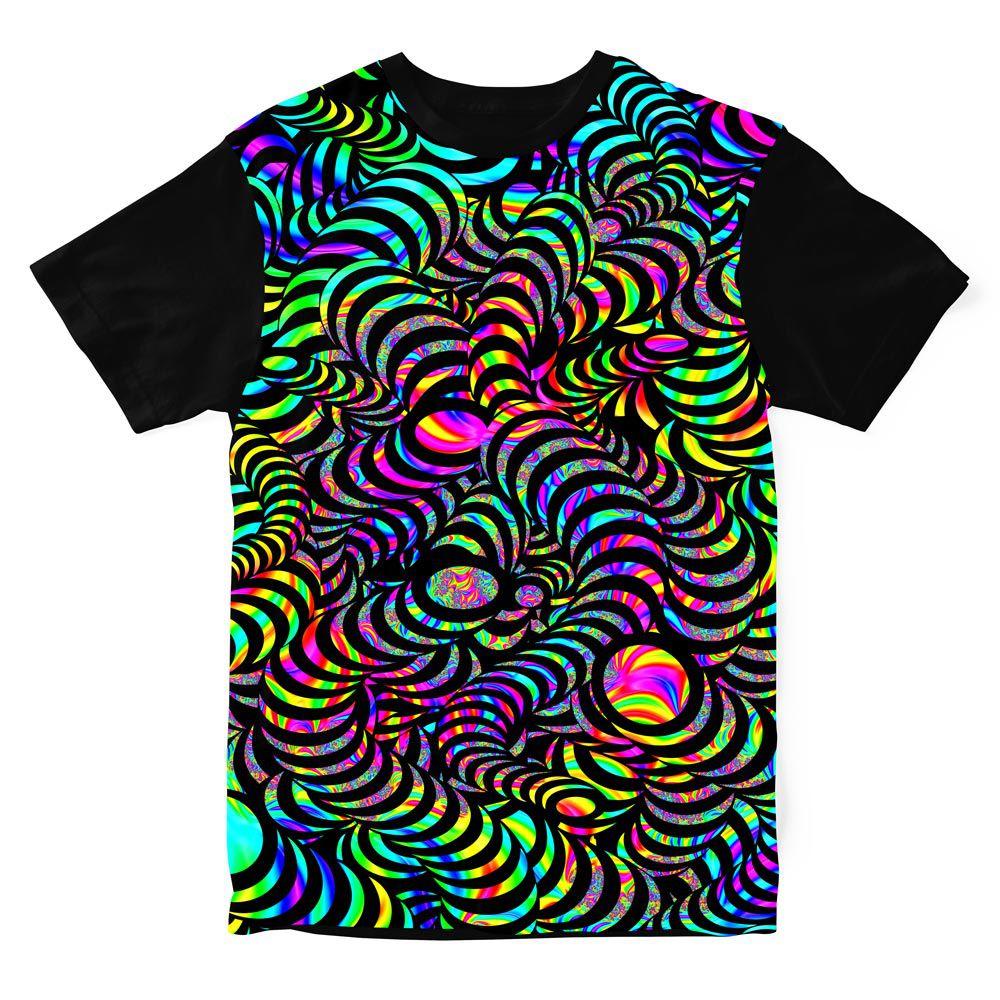 Camiseta Psicodelica Snakes Colors