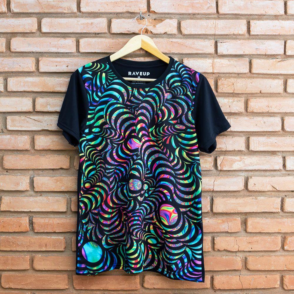 Camiseta Psicodélica Snakes in Transe