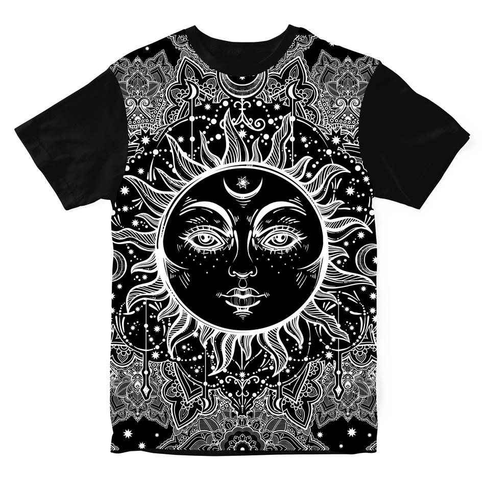 Camiseta Ethnic Sun
