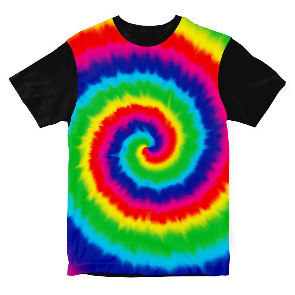 Camiseta Psicodélica Tie Dye