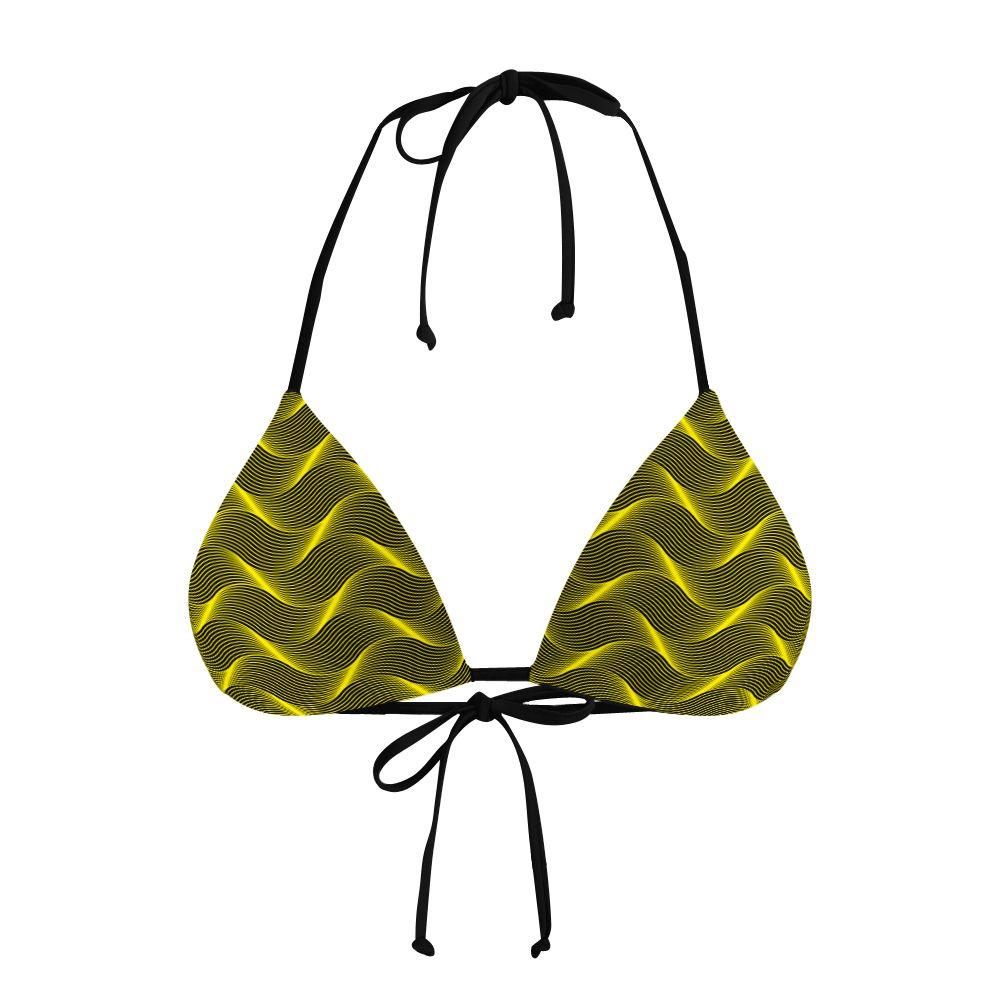 Biquíni Cortininha Insane Curves Yellow