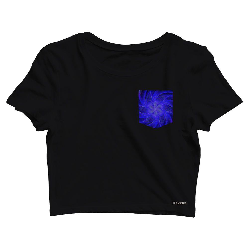 Cropped com Bolso Cosmic Star