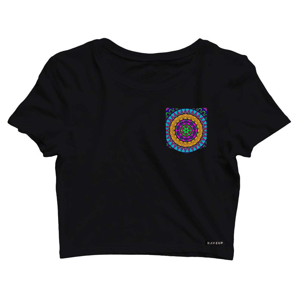 Cropped com Bolso Mandala Colors