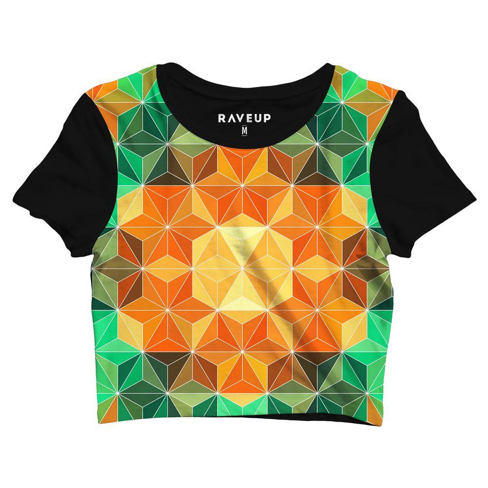 Cropped Psicodelico Geometric Mandala