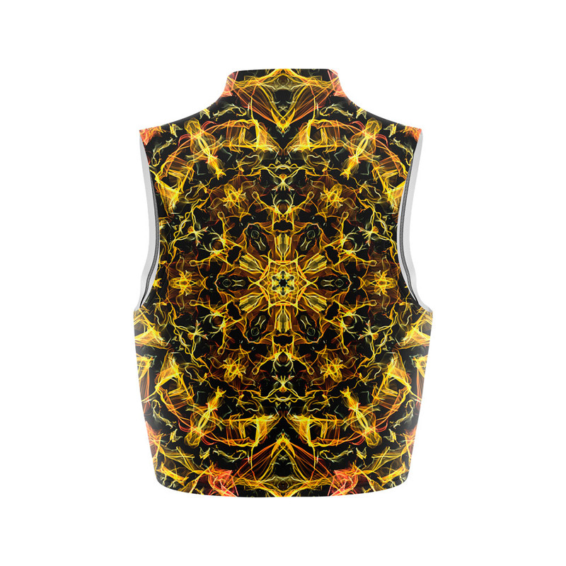 Cropped Regata Gola Alta Mandala Energia Amarela