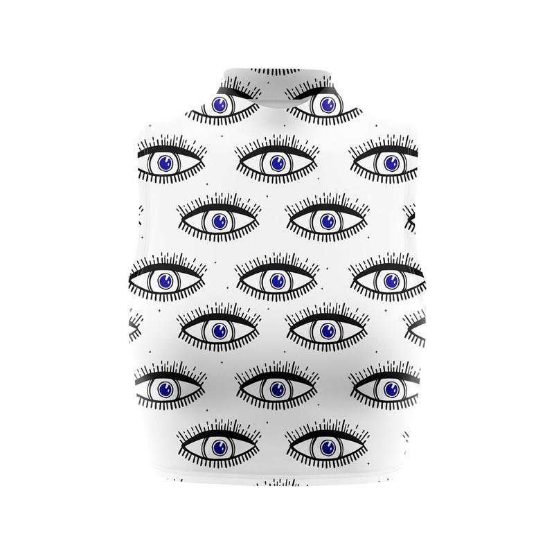 Cropped Regata Gola Alta Olho Grego