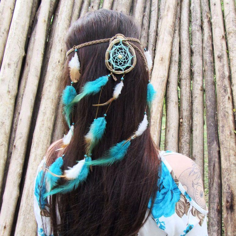 Headband Filtro dos Sonhos Verde Mar