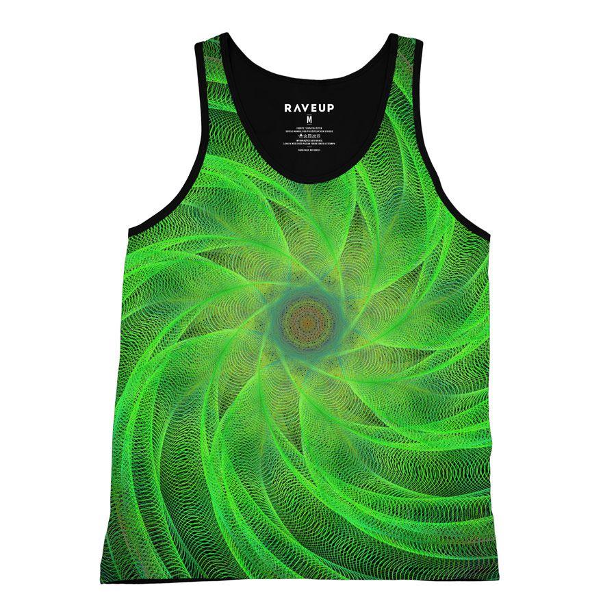 Regata Psicodélica Espiral Green
