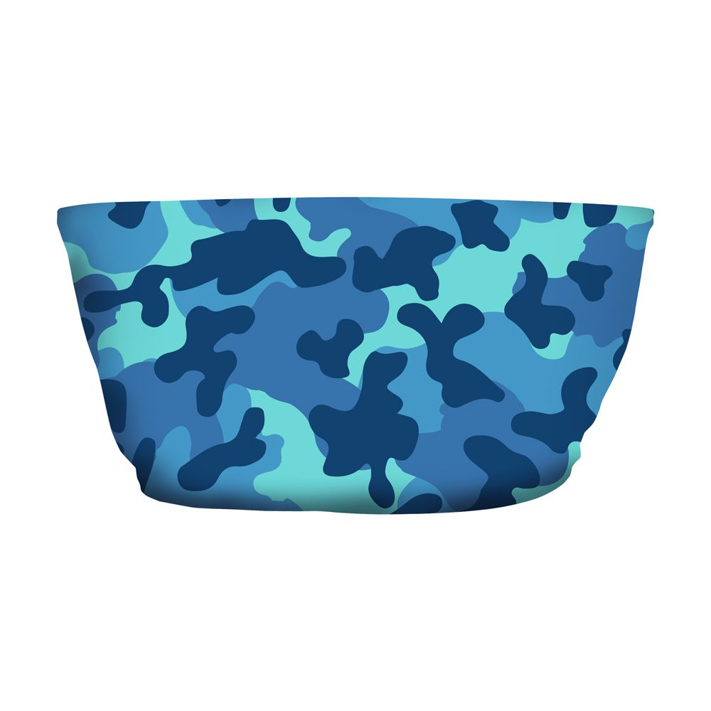 Top Faixa Camuflado Azul