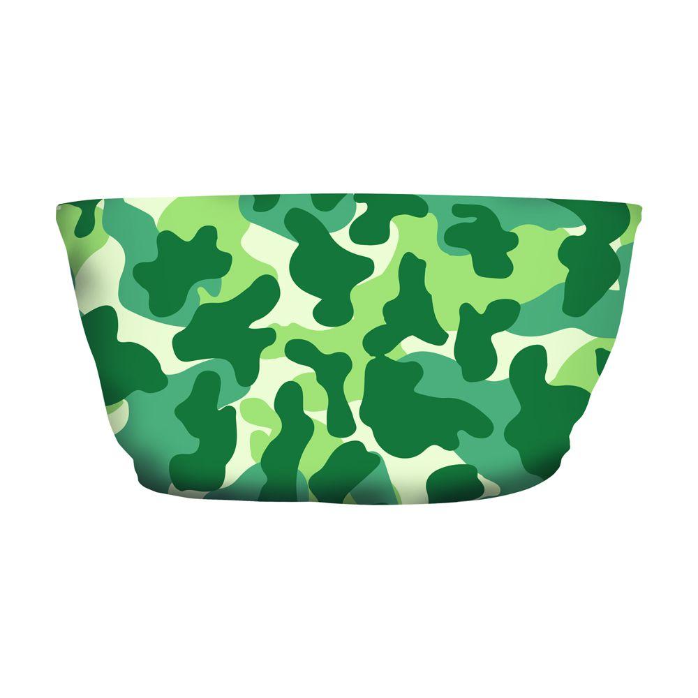 Top Faixa Camuflado Verde