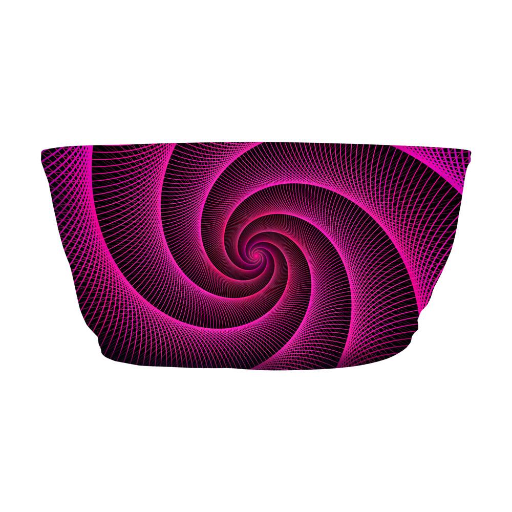 Top Faixa Espiral Vermelho