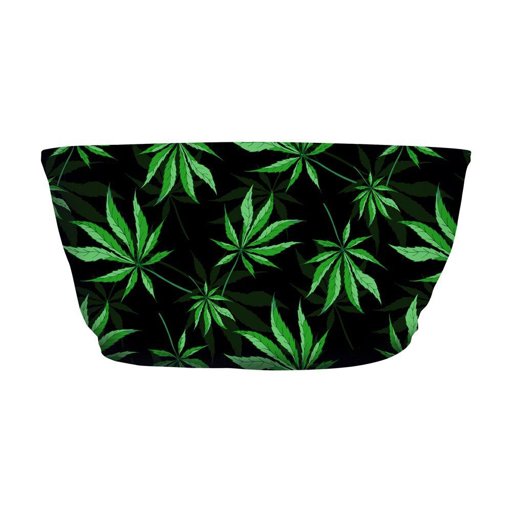 Top Faixa Psicodélico Cannabis Plant