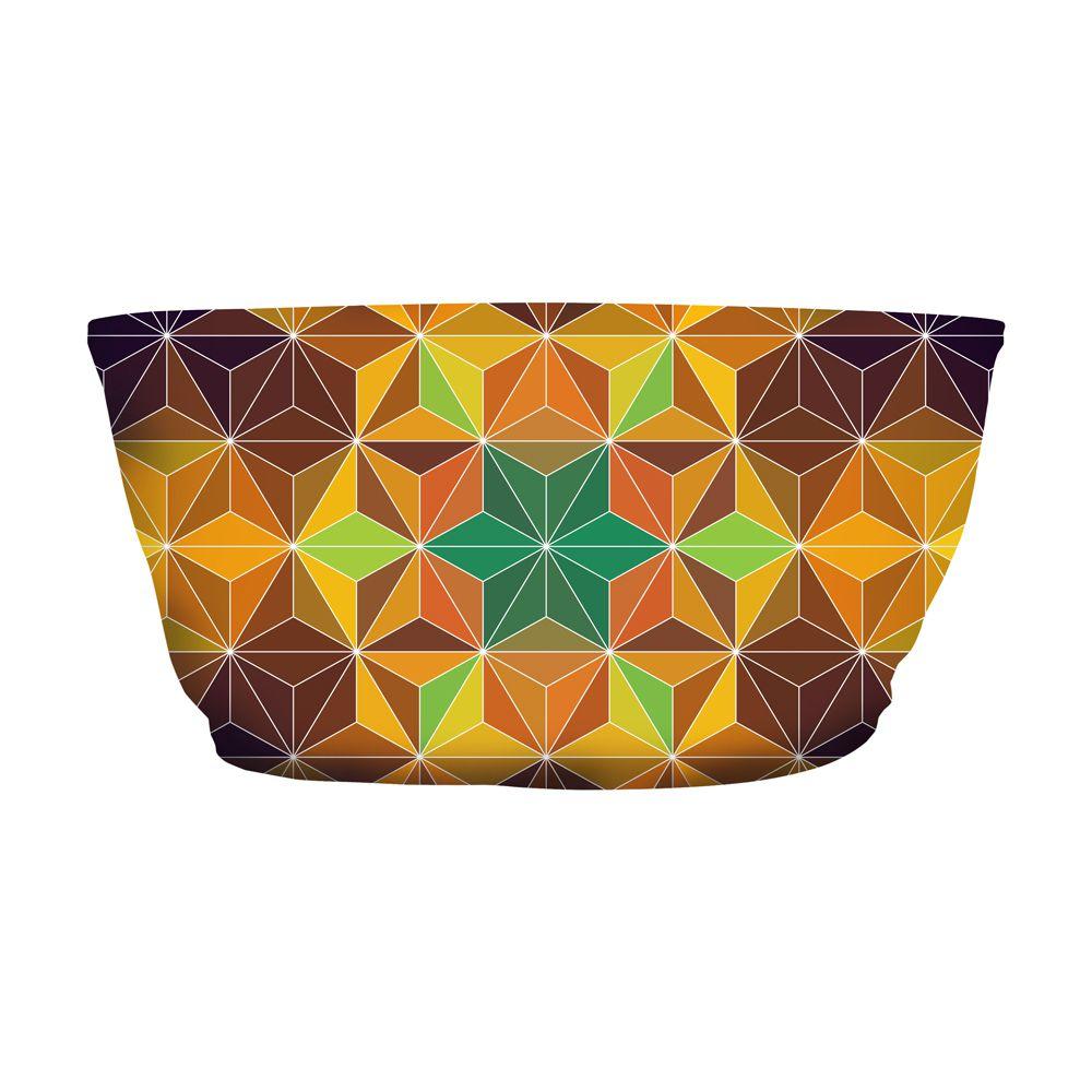 Top Faixa Psicodélico Geometric Mandala