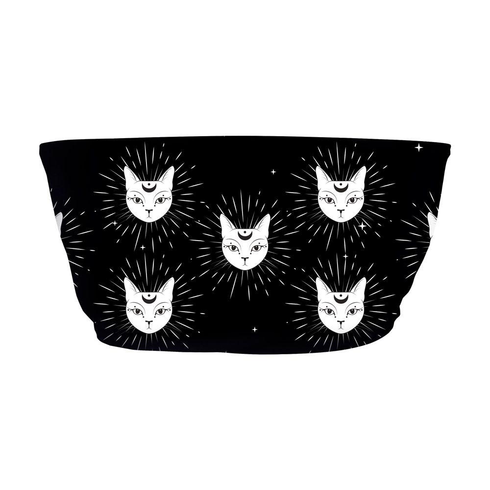 Top Faixa Psicodélico Mystic Cats