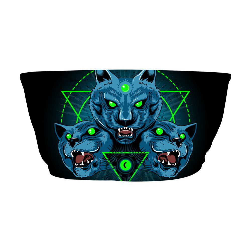 Top Faixa Psicodélico Mystical Wolf