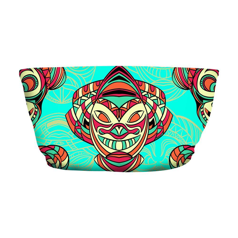Top Faixa Psicodélico Aztec Masks