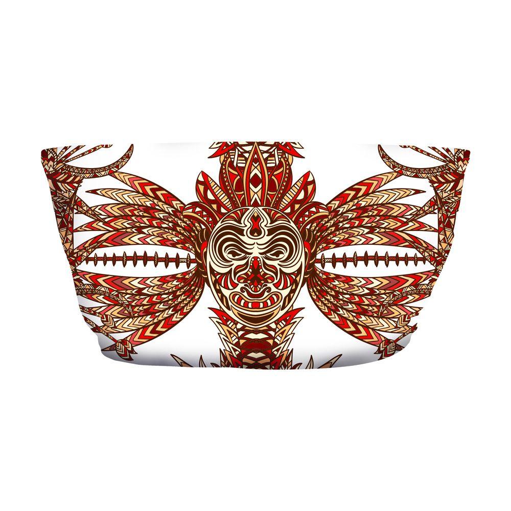 Top Faixa Psicodélico Tribal Masks