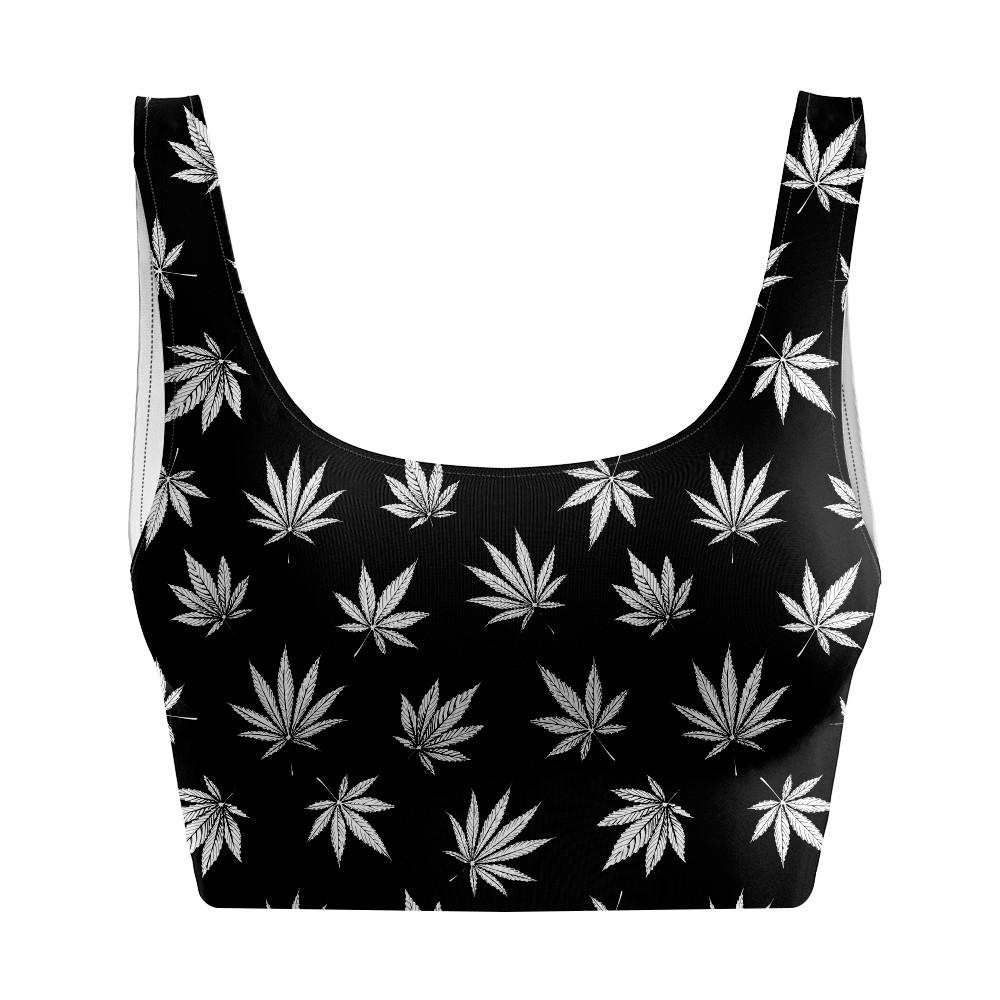 Top Regata Cannabis Black
