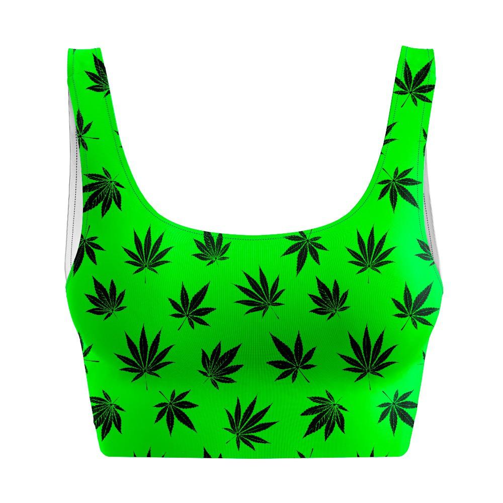 Top Regata Cannabis Green