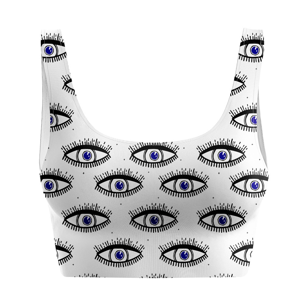 Top Regata Psicodélico Dark Eyes