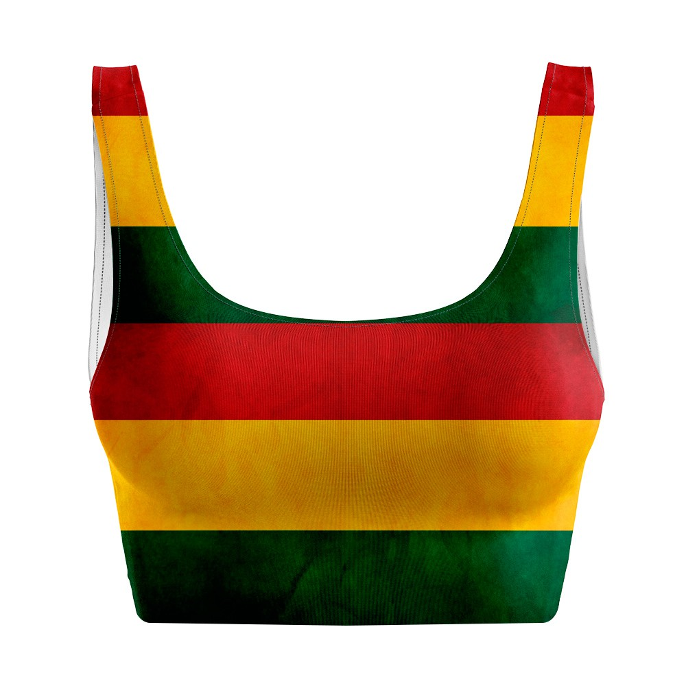 Top Regata Psicodélico Reggae Flag