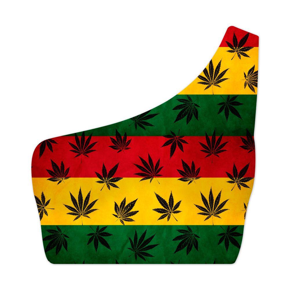 Top Um Ombro Só Cannabis Reggae
