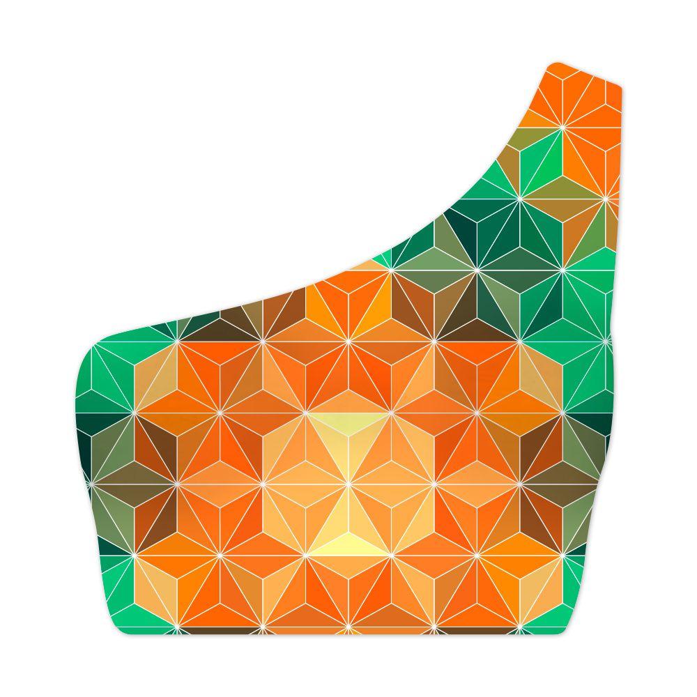 Top Um Ombro Só Geometric Mandala