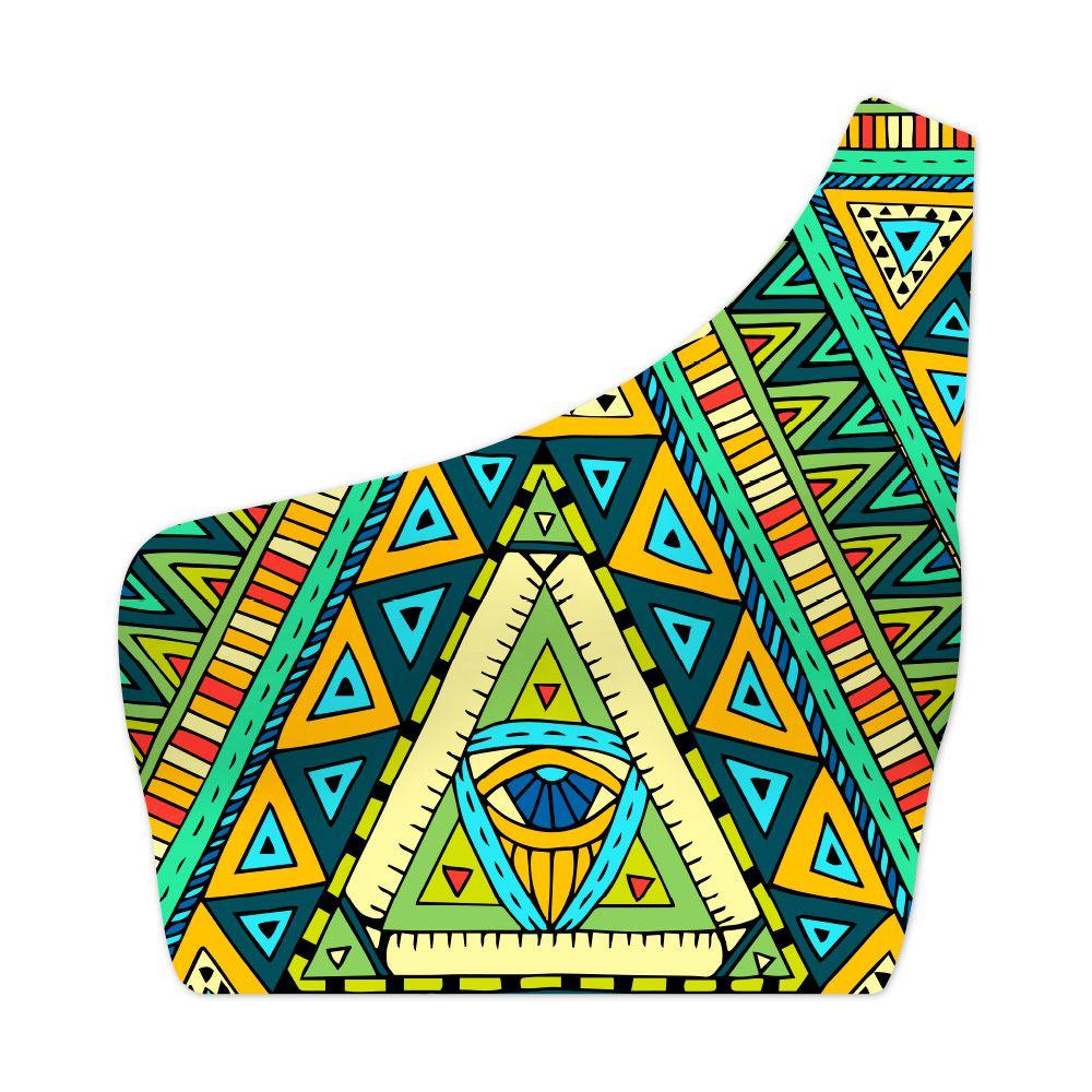Top Um Ombro Só Native Culture Eye