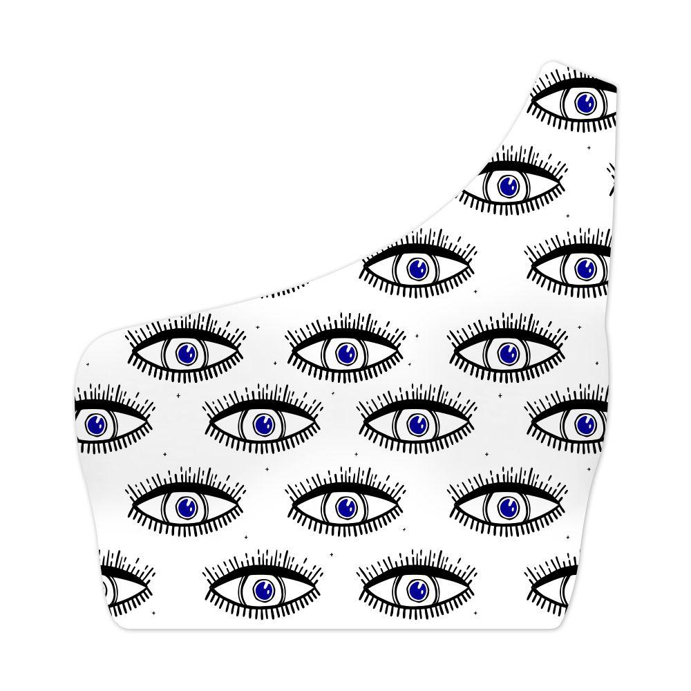 Top Um Ombro Só Psicodélico Dark Eyes