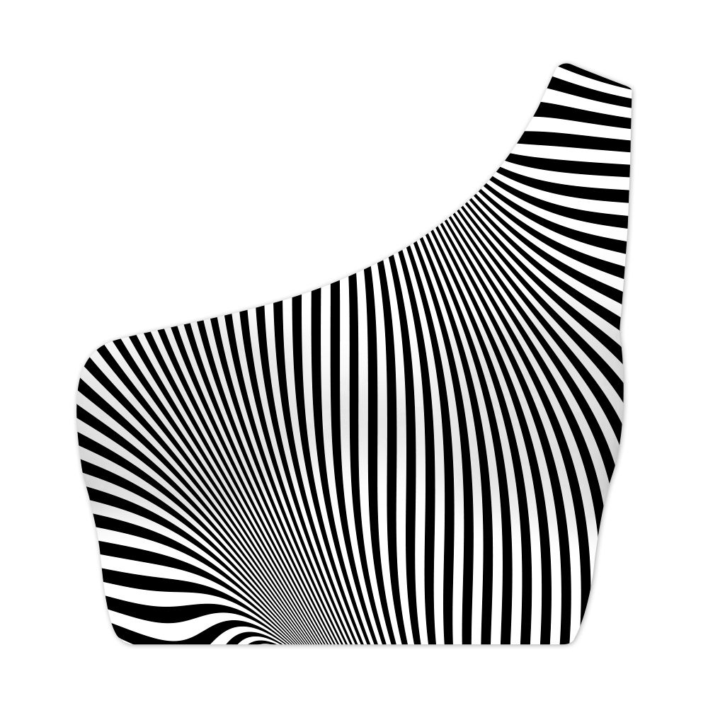 Top Um Ombro Só Psicodélico Illusion