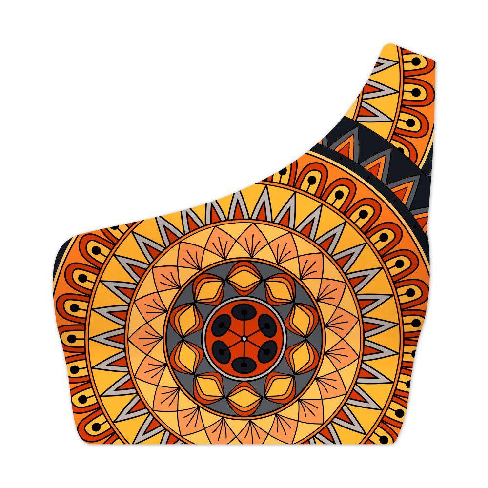 Top Um Ombro Só Psicodélico Mandala Native