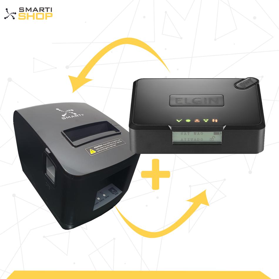 SAT Elgin Smart + Impressora Térmica XP SMARTI