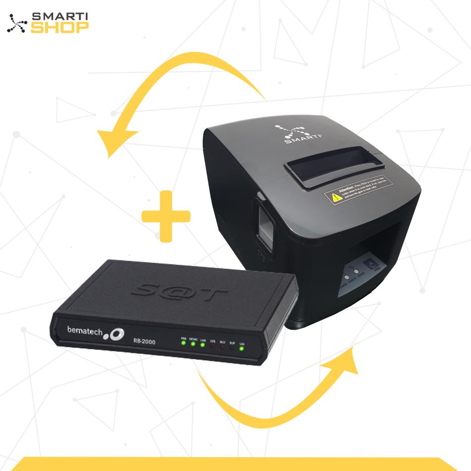 Impressora Térmica XP SMARTI + SAT Bematech