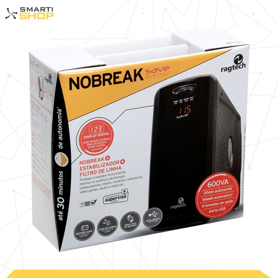 Nobreak Ragtech Save Digital 600VA