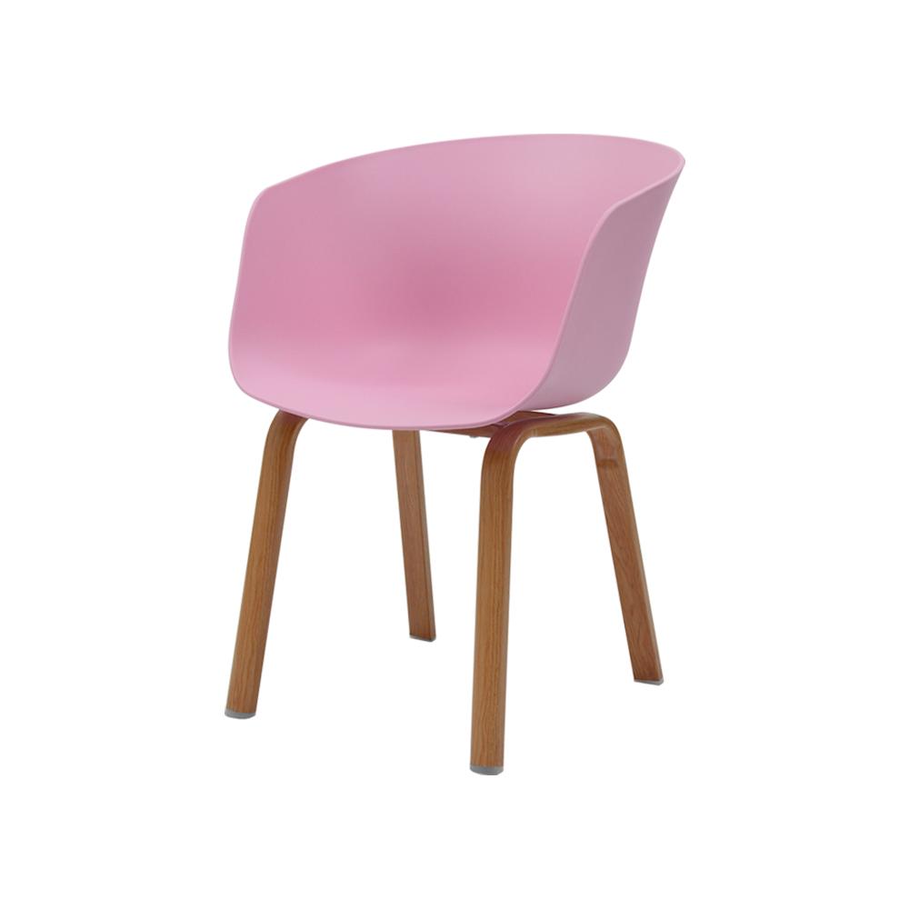 Cadeira Caras Rosa Claro