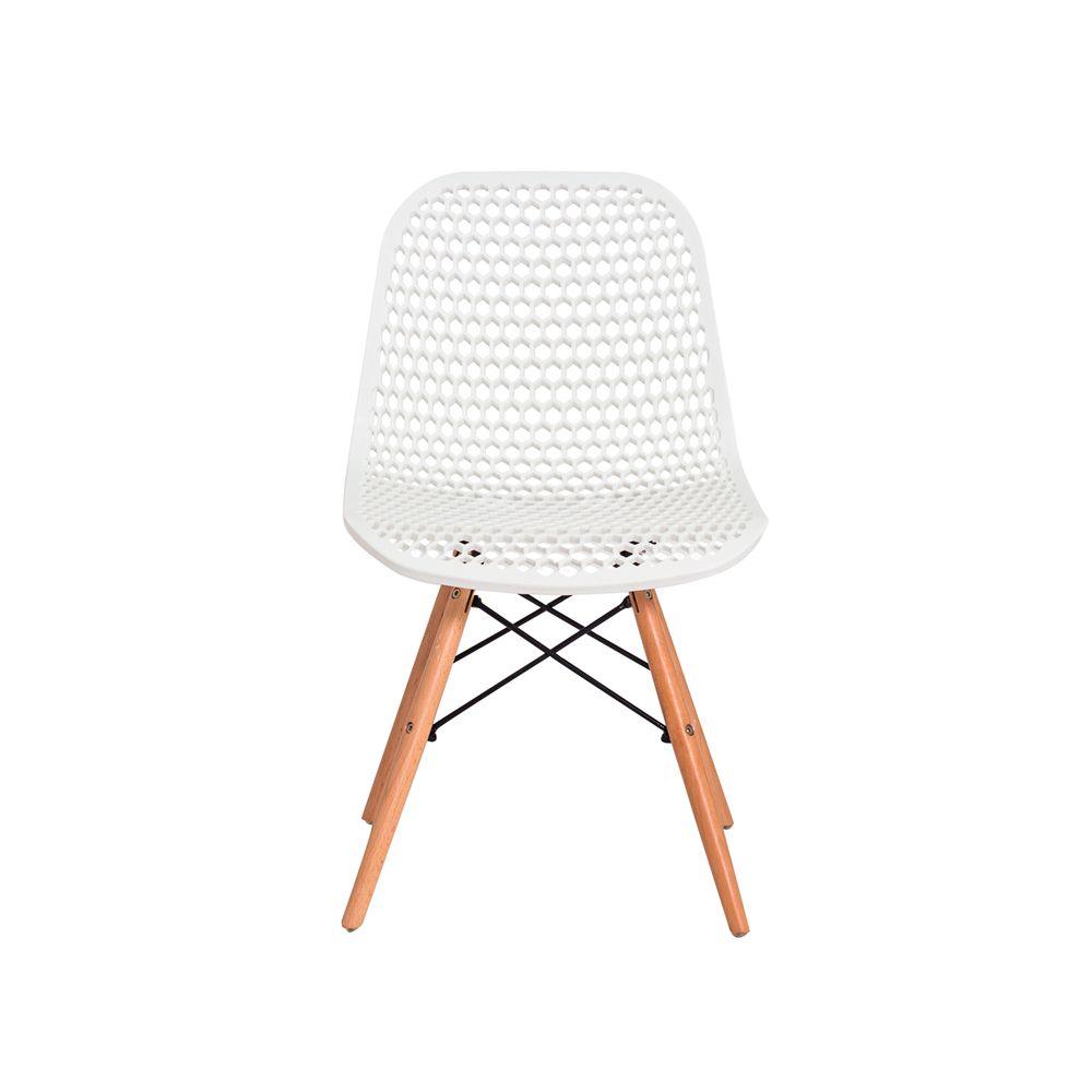 Cadeira Colméia Branca