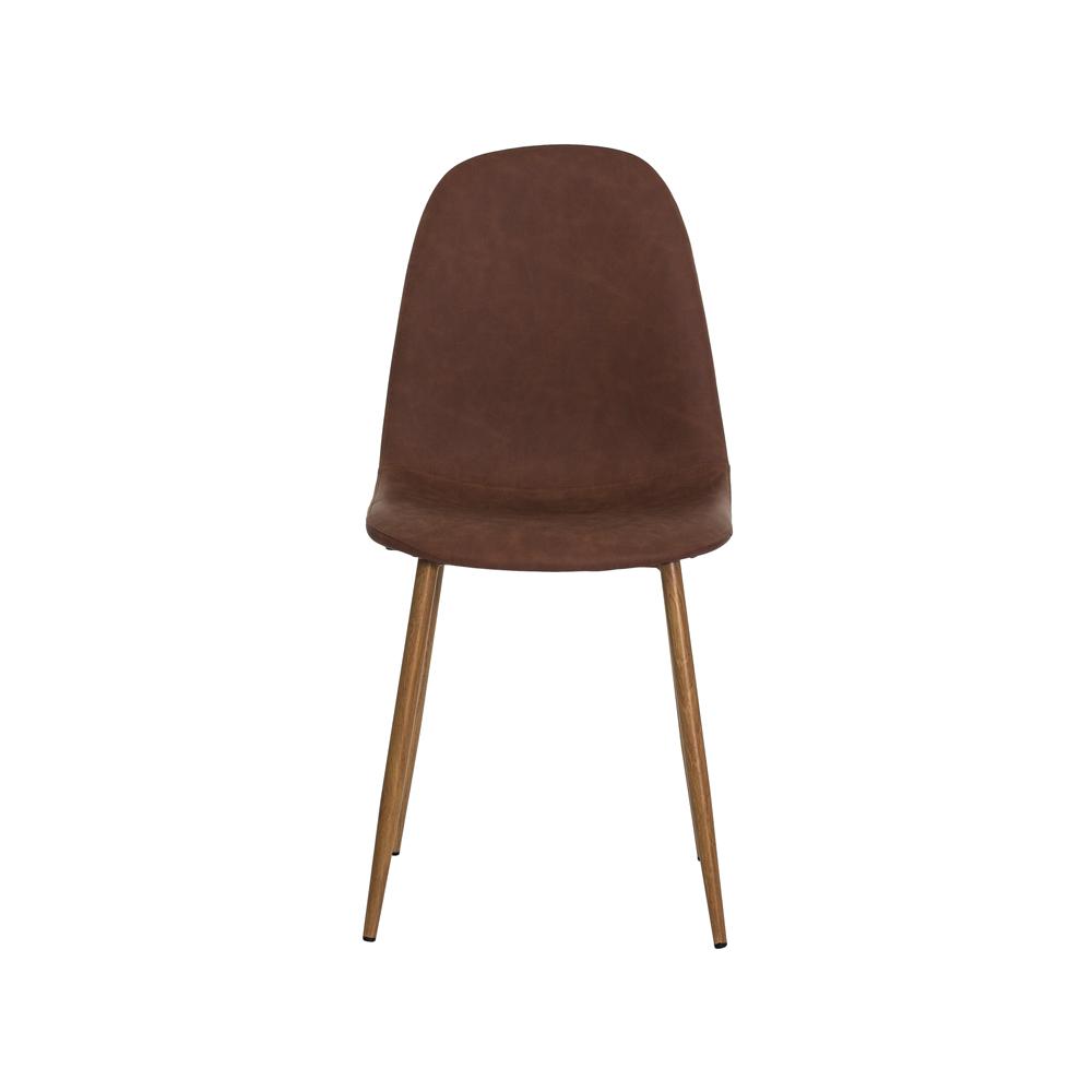 Cadeira Dina Caramelo Base Ferro Sala Cozinha Jantar