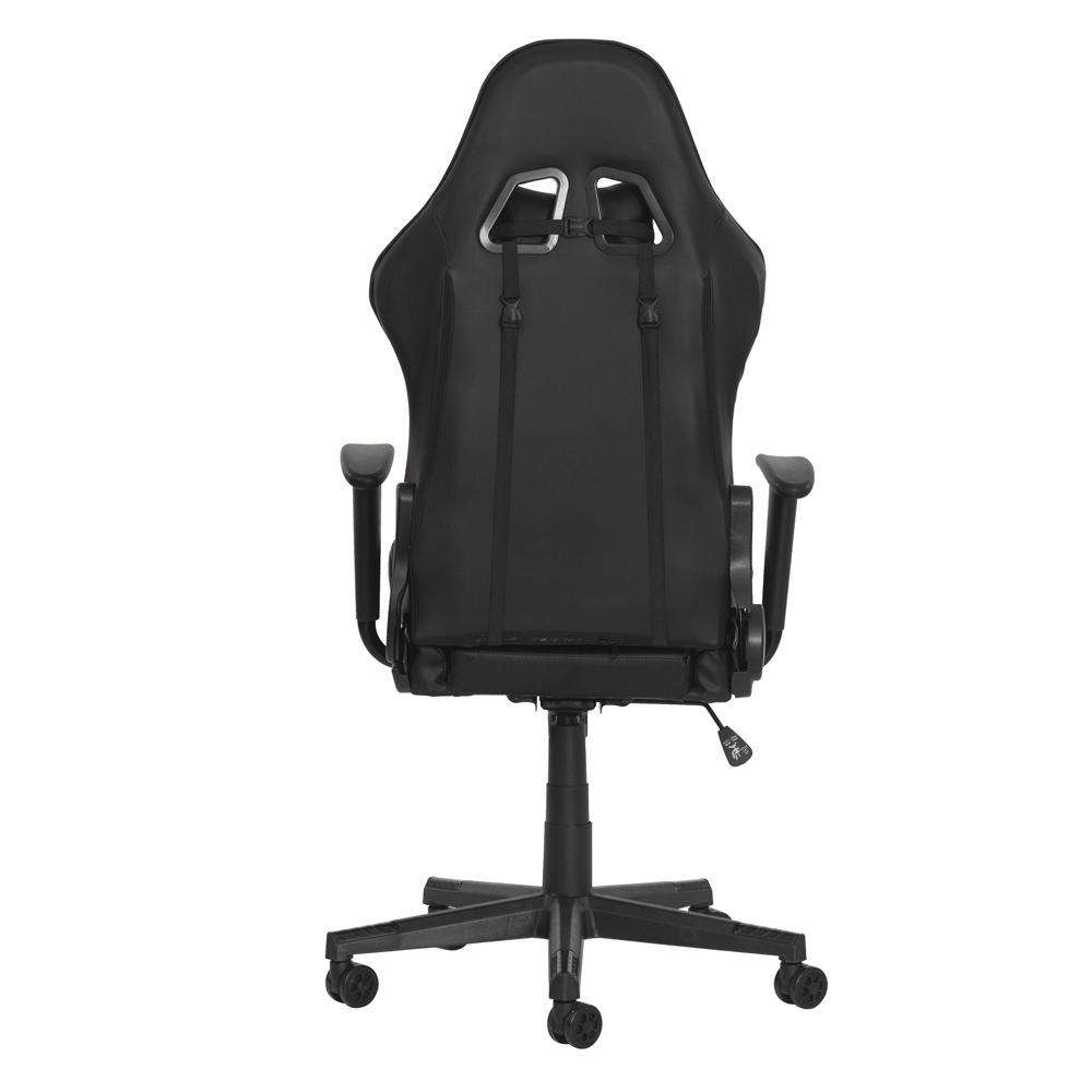 Cadeira Gamer Ben Reclinável 180º Giratória Preta Altura Ajustável