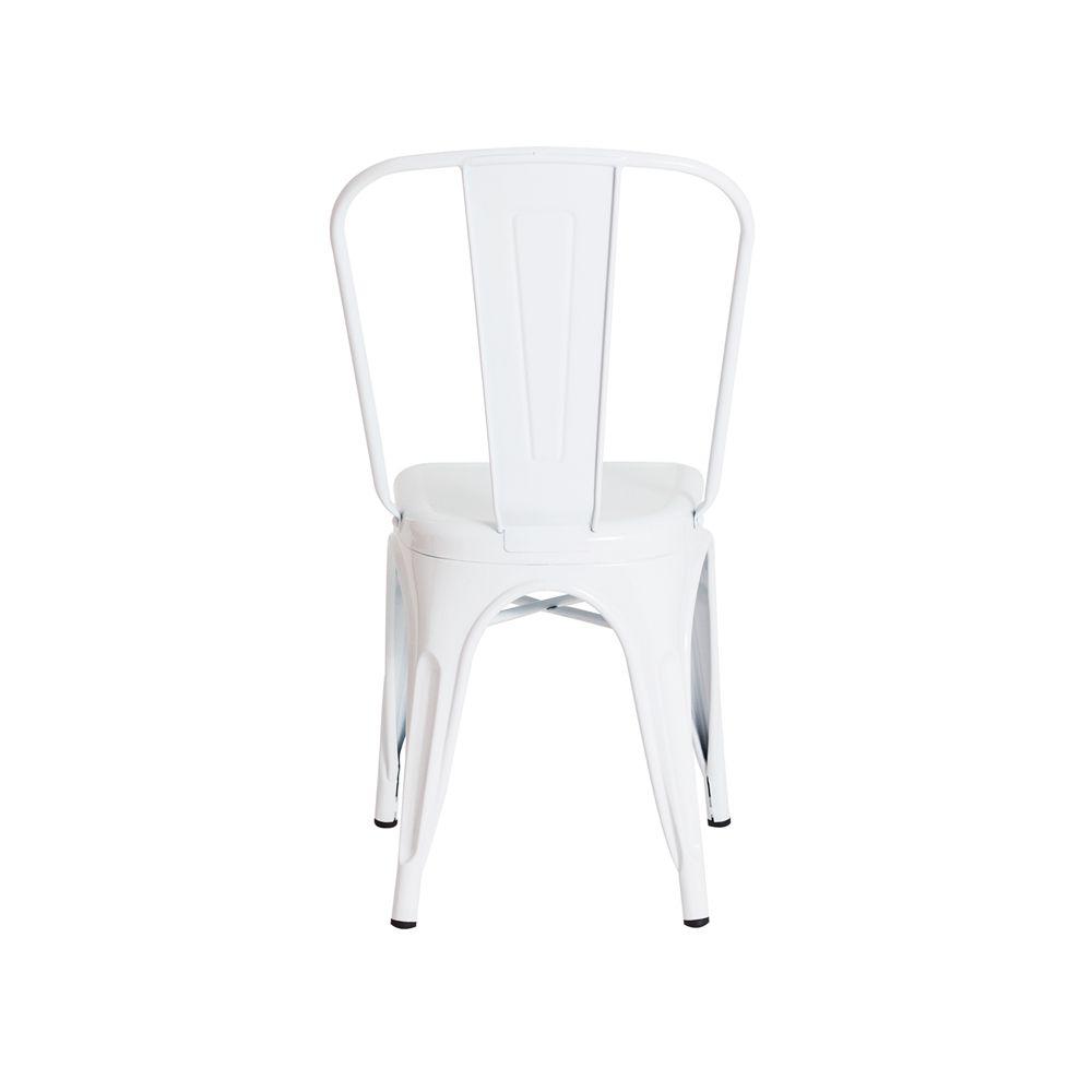 Cadeira Tolix Iron Design Branca