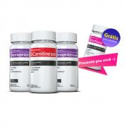 02 Thermogenize®Femme  + 01 L-Carnitina c/ 60 cápsulas cada + GRÁTIS 01Testofemme®