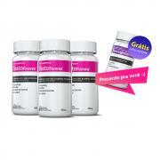 03 Testofemme® c/ 60 cápsulas cada + GRÁTIS  01 Thermogenize®Femme  (emagrecedor)