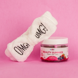Beauty Gummies - 30 gomas - Ganhe 1 Faixa Skin Care Inove Nutrition